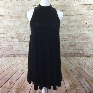 Cynthia Rowley Sleeveless Velvet Dress Small